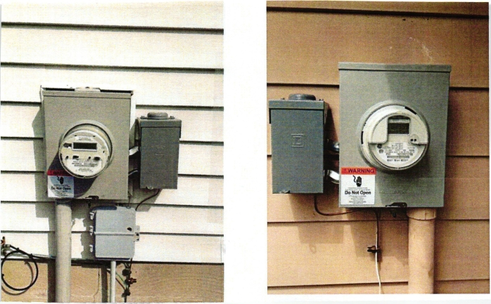 electric meter pictures